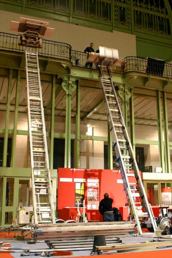 RENTING LADDER HOISTS